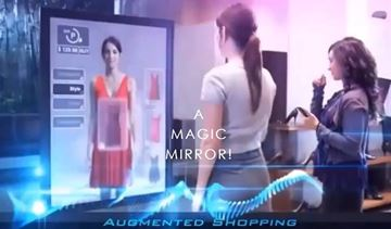 Picture of C2C   Magic Mirror 42 inch  All-in-One PC