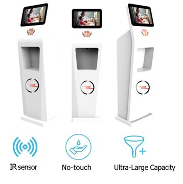 Bild von C2C Auto-Induction Hand Sanitizer Advertising Machine